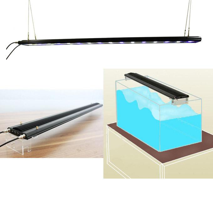 Lampa Led Akwarium Morskieroślinne 100w 120cm Lampy Led